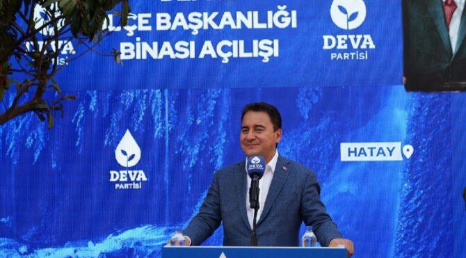 Ali Babacan: Kötü yönetimi tarihin tozlu sayfalarına acı bir hatıra olarak bırakacağız